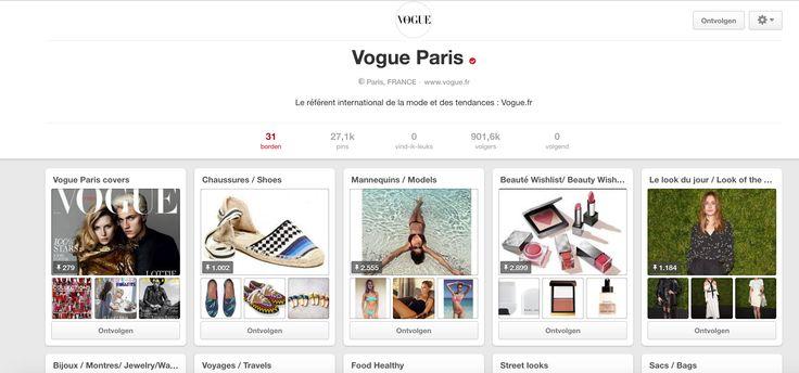 Als je iets hebt gezien in het tijdschrift Vogue, is dit de meest handige manier om iets terug te vinden waarin je geïnteresseerd bent.