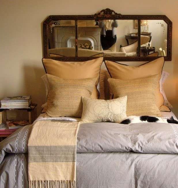 Realizzare una testata letto fai da te - Testata con specchio