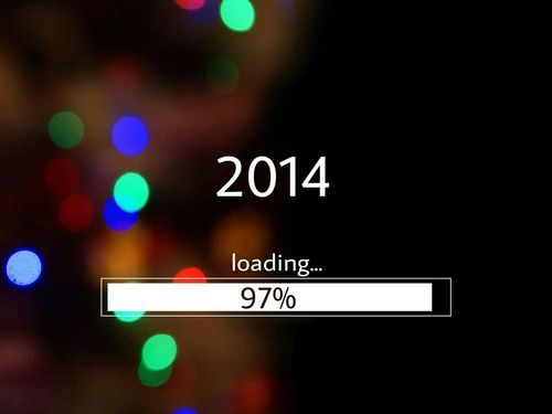 loading a new year