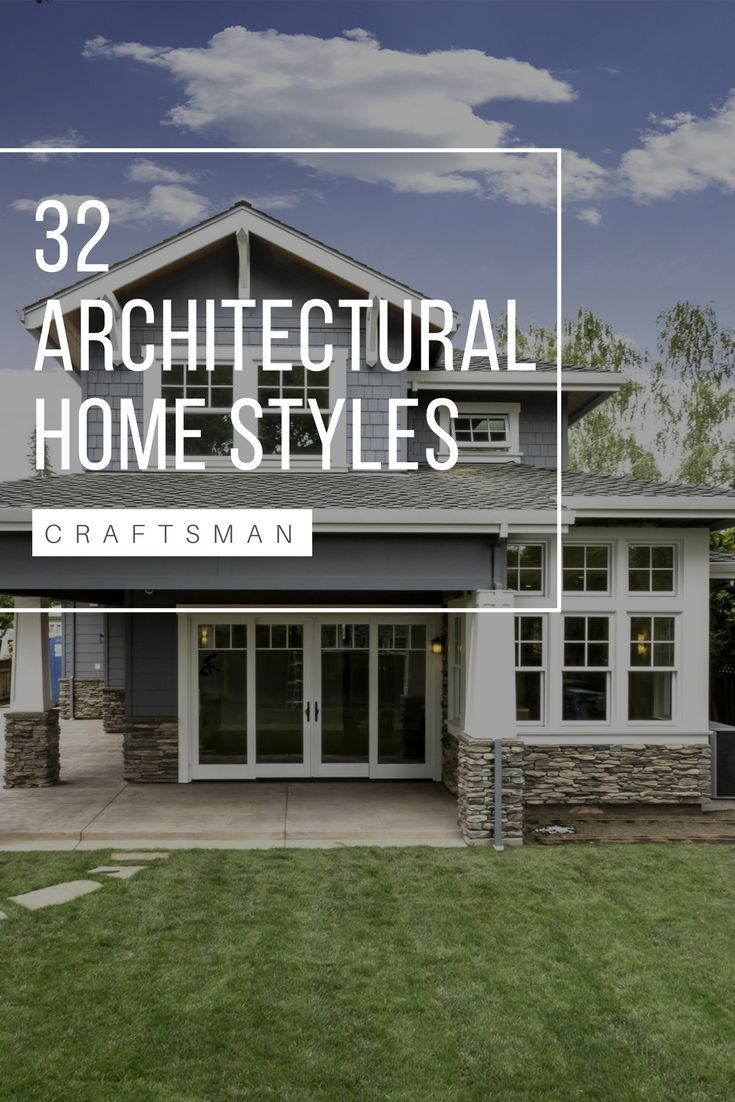 33 Types of Architectural Styles for the Home (Modern, Craftsman, etc.) | Home  architecture styles, Home styles exterior, Different house styles