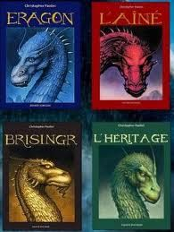 """La série """"Eragon"""" de Christopher Paolini."""
