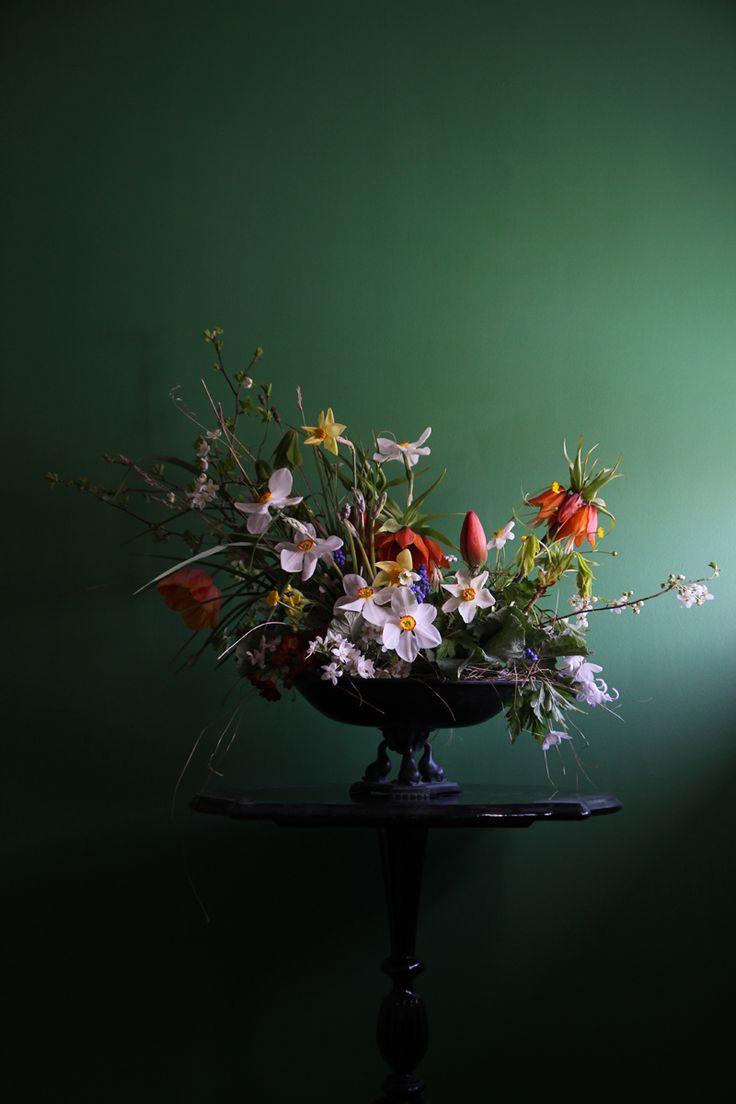 Spring Flower Arrangement Tutorial