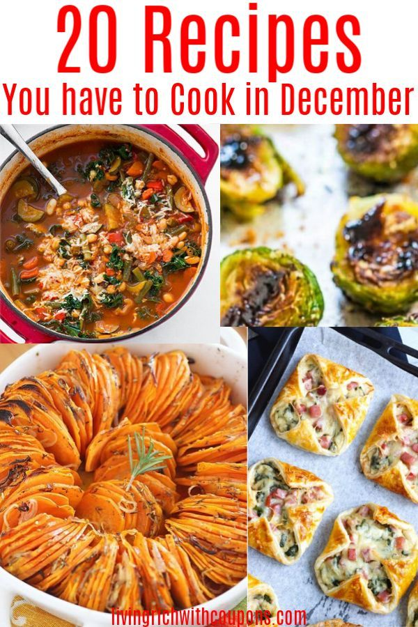 20 Of The Best Recipes To Cook In December Winter Recipes
