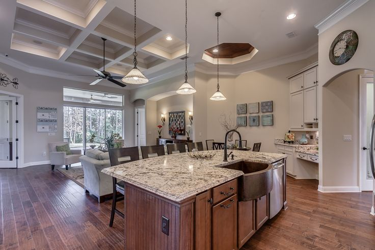 17 best images about durbin crossing premier homes sold for Model kitchen photo