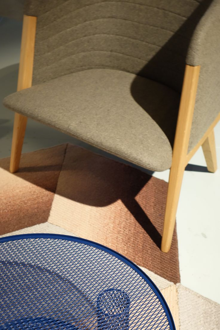 Soft colours and nice patterns from Moroso