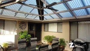 LYSAGHT Living Collection - Hip Roof Verandah - My Dezign Exteriors, Outdoor Home Improvement, Ashford, SA, 5035 - TrueLocal
