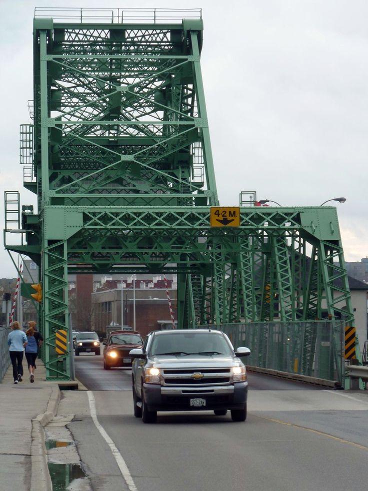 Lasalle Causeway bascule bridge, Kingston, Ontario
