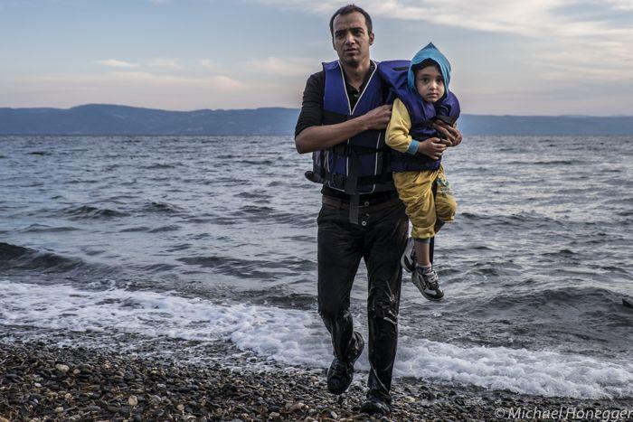 lesbos photos refugees - Google Search