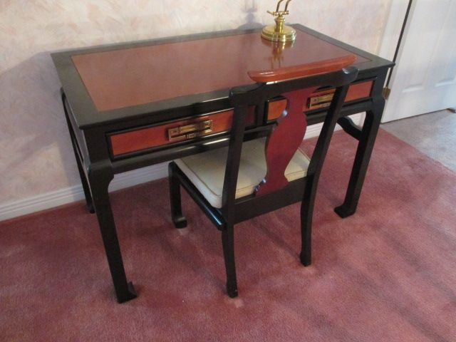 ORIENTAL LACQUER DESK Estate sale from classy Upper Hunt Club home – 114 Topley Crescent, Ottawa ON. Sale will take place Sunday, May 10th 2015, from 8am to 2pm. Visit www.sellmystuffcanada.com to view photos of all available items!