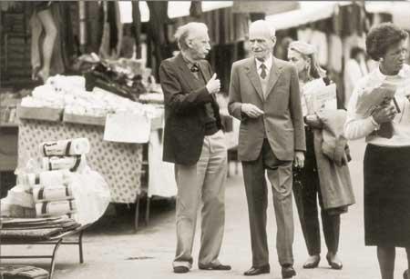 Mario Luzi e Giorgio Caproni