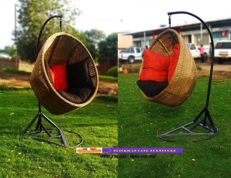 Wicker egg shape Hanging chair- malawi