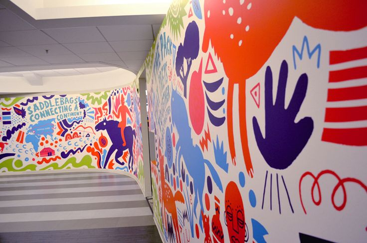 JESS3 - Projects / Mindjet Office Murals:    Mindjet, looking to inspire their team by launching a revamped physical office space in line with their product relaunch, approached JESS3 to create custom murals for several office walls. Having done our own mural in the original JESS3 HQ, our DC office, we were excited to tackle a new mural experience.: Mindjet Offices, Approach Jess3, Create Custom, Offices Murals, Offices Spaces, Physical Offices, Custom Murals, Dc Offices, Offices Wall