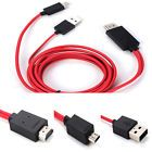 1PC MHL Micro USB 11pin to HDMI HDTV Cable Adapter Samsung Galaxy S3 S4 Note 2