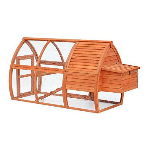 Your chickens will love their new home if their new home is a spacious chicken coop from Pawhut! Pawhut coops are the best in the business offering a myriad of options so that you can select the one t...