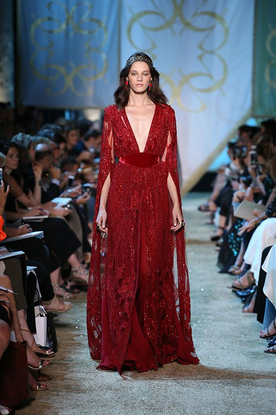 ELIE SAAB Haute Couture Autumn Winter 2017-18