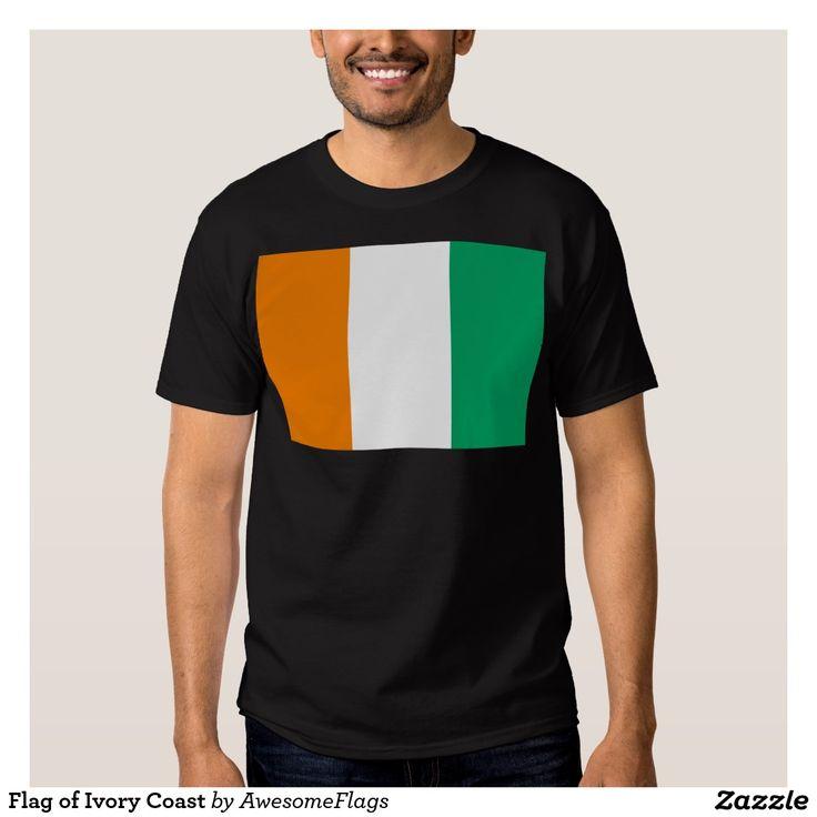 Flag of Ivory Coast Tshirt