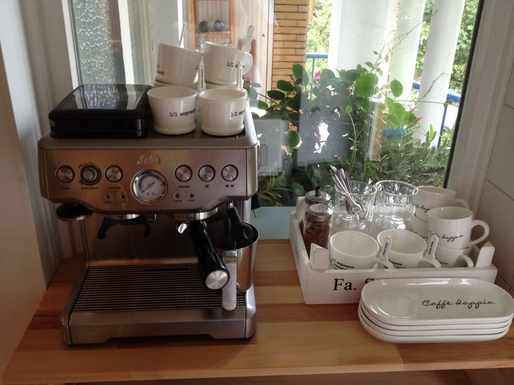 Onze nieuwe koffiecorner
