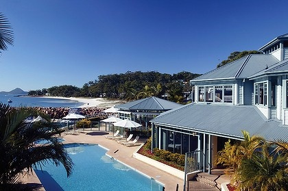 Peppers Anchorage Port Stephens Australia  - our honeymoon location