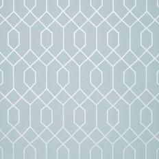Papier peint - Thibaut - La Farge - Metallic Silver on Blue