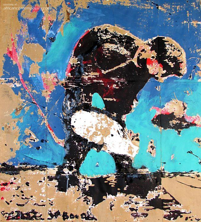 BOUA | Armand BOUA, Costa do Marfim. Pintura > obras disponíveis de Armand Boua.