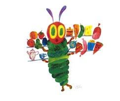 Rupsje at….rupsje at…. rupsje at…….. een gat in een blad. Rupsje spon…. Rupsje spon….rupsje spon een cocon in de zon Vlinder vrij….vlinder vrij…. weg ben jij!