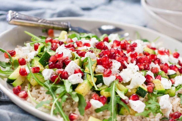 Als je op de gezonde tour bent dan is dit een hartstikke lekkere salade voor lunch of diner. Makkelijk te maken en lekker fris!