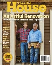 October 2016 This Old House magazine cover