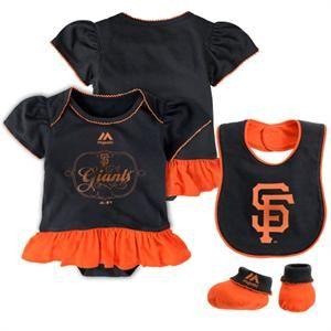 San Francisco Giants Fanatic Bodysuit Bib Amp Booties Sf