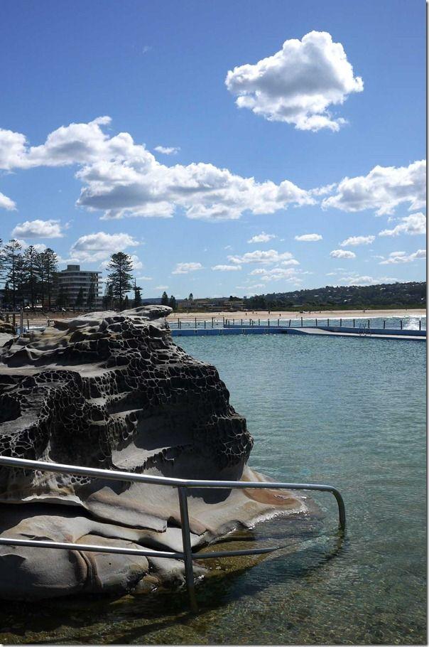 Salt water rock pool by the beach, Dee Why, Sydney #sydney #deewhy