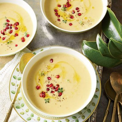 Roasted Cauliflower and Garlic Ultimate Southern Thanksgiving Soup Living   The sale Southern shoescom