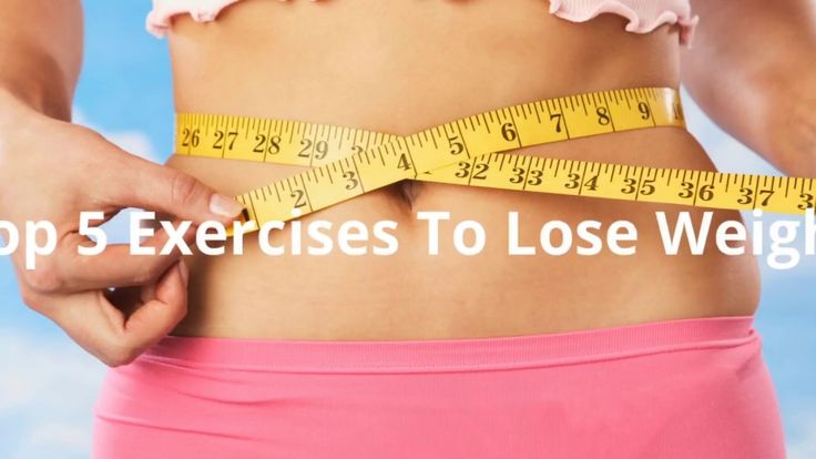 Top 5 Exercises To Lose Weight #weightloss #loseweight #weightlossjourney