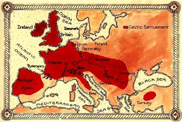 WHERE THE CELTS LIVED.. so many people think Celtic just means Ireland only. This is quite untrue. The Celts were also called Picts at one time, the name became interchanged by some groups.