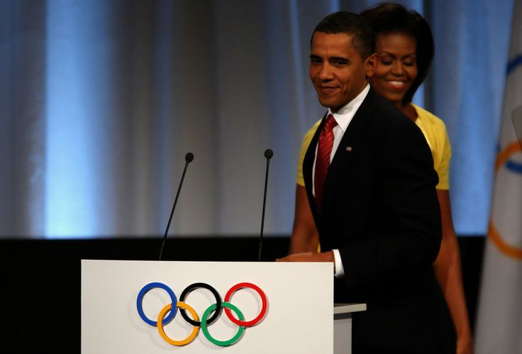 Michelle Obama Barack Obama Photos: IOC 2016 Olympic Venue Announcement - Day Two
