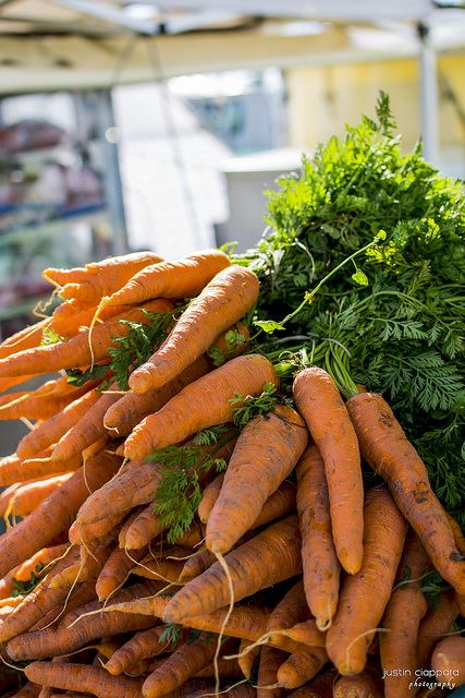 Pile of Fresh Carrots at Ta'Qali, Farmers Market, Malta