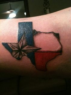 texas flag tattoos - Google Search