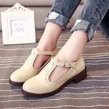 Zapatos del barco 2015 primavera para mujer casual pisos PU de cuero de zapatos vintage inglaterra mujeres de moda oxfords loafers pisos envío gratis(China (Mainland))