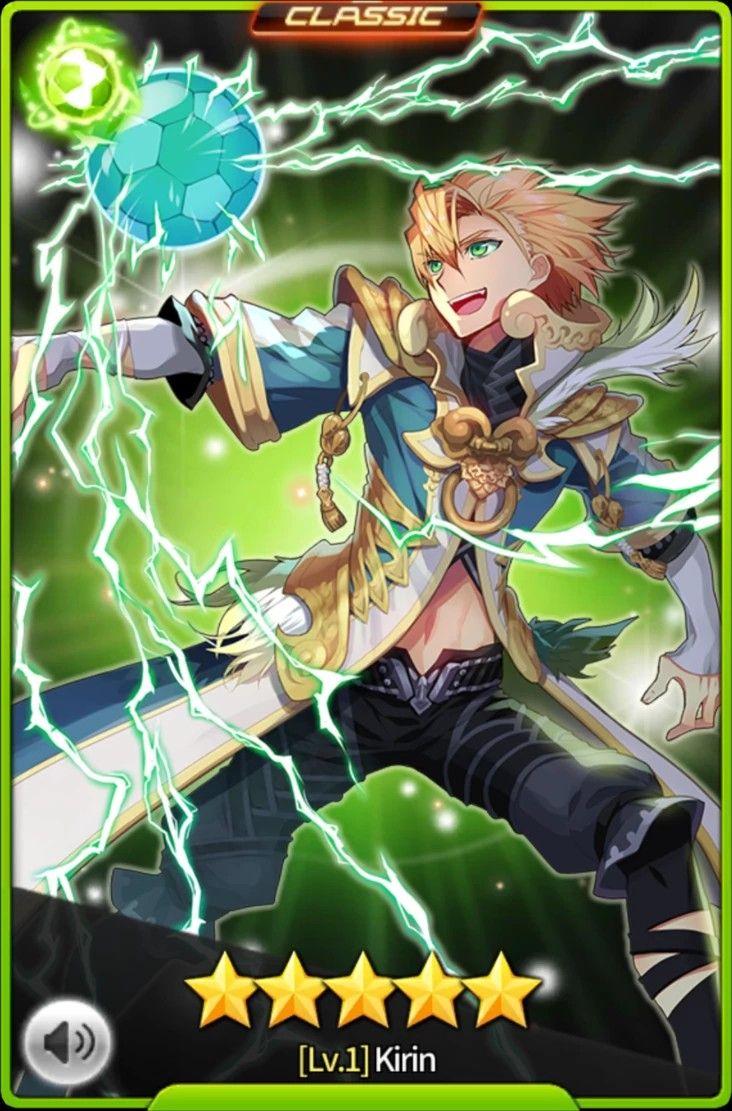 Kirin Striker Kartina Association Guerreiro Versao Anime Anime