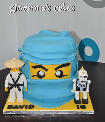 giovanna's cakes: Lego NinjaGo cake