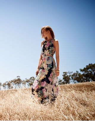 Camilla Print Jersey Maxi Dress
