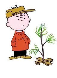 Traditional Christmas Tree Stand in 3 Easy Steps--Charlie Brown Style
