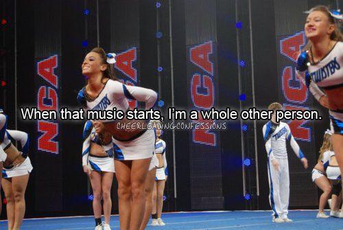 :): Cheer Stuff, Allstar Cheerleading, Cheerleading Quotes, Cheerleading Cheerleading, So True, Cheerleading 3, Random Pin, Cheerleading Workout, Music Start