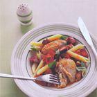 Een heerlijk recept: Penne met kip en kerstomaatjes van Tana Ramsay