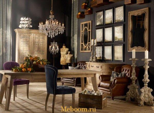 Винтажные интерьеры от Timothy Oulton « Мебель для Вашего дома