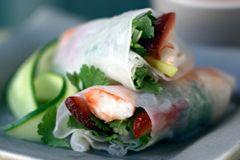... on Pinterest | Vietnamese spring rolls, Prawn and Shrimp ceviche
