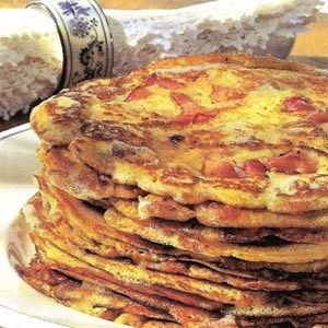 The origin of these thin  Hungarian pancakes (palacsinta), which are extremely popular in Hungary, is not entirely clear. Most probably they developed from the Roman plazenta, a small, round cake that was eaten instead of bread. Pancakes are served in a wide range of varieties, both sweet and savory. - See more at: http://www.itshungarian.com/hungarian-cuisine/hungarian-pancakes/#sthash.ukZw8AMk.dpuf