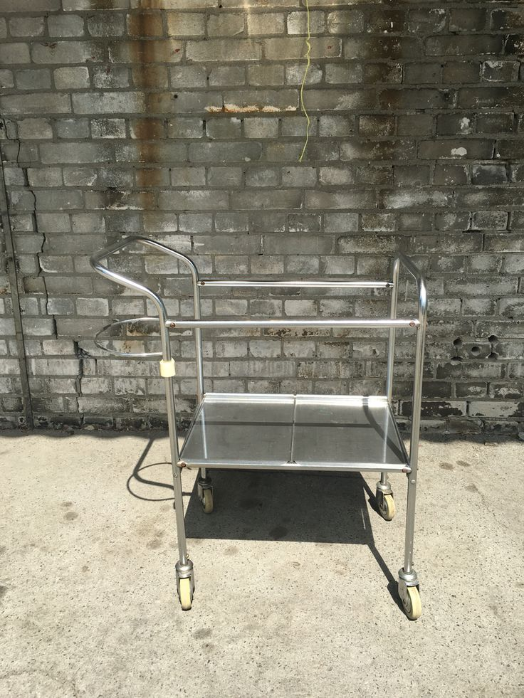 Medical inox table '70 / '80 from Poland 100€