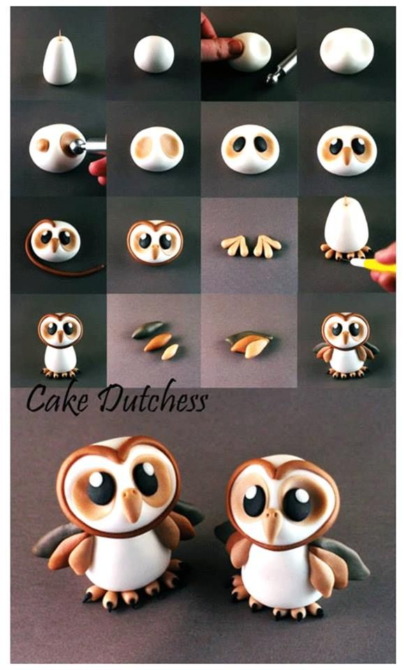Great little tutorial for owl lovers.  For all your cake decorating supplies, please visit Craftcompany.co.uk