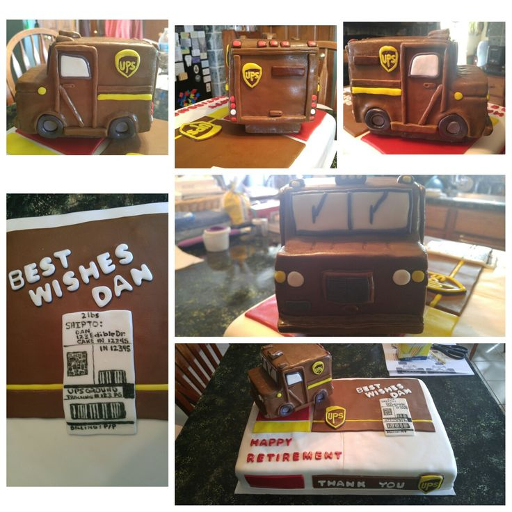 Ups Freight Quote Awesome 8 Best Ups Images On Pinterest  Retirement Cakes Retirement