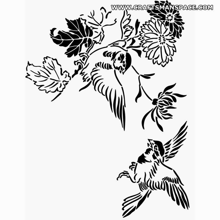 Line Art Flower Stencil Designs : Images about Шаблони on pinterest clip art flower