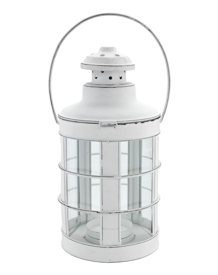 The sort of lantern you can imagine guiding fishermen to shore, this brings a seafaring touch to the bathroom. Priced at £10.